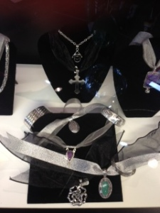 Stunning silver and gold jewelry that can be worn right out of the box!