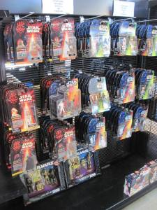 The toy aisle here at Capital Pawn boasts of action figures and Hot Wheels and Matchbox cars from the 80s and 90s!