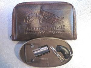 Freedom Arms Casull's Improvement  .22MAG BELT BUCKLE GUN!