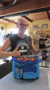 Capital Pawn gives away a cooler filled with Gatorade (it was one of the hottest days of the year so far) to an amazing customer.