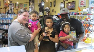 Capital Pawn gives away a FREE Rio 2 movie to one of our favorite families, the Normans. Thanks to the whole family for coming in and being so amazing!