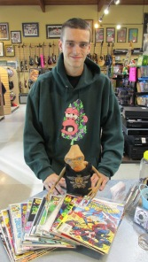 Capital Pawn gives away 20 FREE comic books to promote the new changes in the comic book world. See previous Blog post.