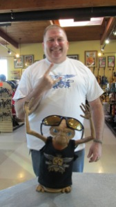 Capital Pawn gives away a fabulous FREE tshirt  to our friend and awesome customer, Karl.